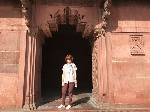 90. Agra fort, Agra, India