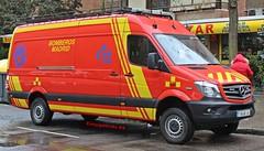 Bomberos Madrid (emergenciases) Tags: emergencias españa 112 madrid ayuntamientodemadrid explosiónvallecas puentedevallecas vehículo emergency bomberos bomberosmadrid bomberosayuntamientodemadrid mercedes furgón furgoneta unidaddetransportedematerial