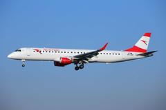 OE-LWP_MAN_141218_KN_208 (JakTrax@MAN) Tags: austrain airlines embraer erj e95 195 erj195 manchester ringway airport oelwp egcc man runway 23r