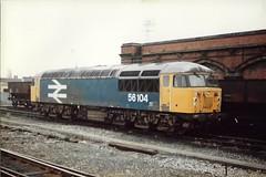 56104 060285 (stevenjeremy25) Tags: 56 br diesel coco grid loco 56104 shewsbury
