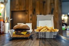 Five Points Burger (Photos By Dlee) Tags: sonyalphaa7iii sonya7iii sonya73 sony sonyalpha mirrorless fullframe fullframemirrorless tamron2875mmf28diiiirxd tamron zoom tamron2875mmf28 photo photosbydlee photography australia sydney newsouthwales nsw summer stilllife productphotography stilllifephotography food burger