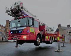 CN11EBM (HkEmergencyPhotography) Tags: south wales fire rescue brigade servcie blue lights engine ladder mercedes econic maindee emergency truck vehicle appliance siren 999 112 911 uk