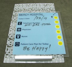 InfoBoard (2/90 Sign Systems) Tags: 290 sign signs signage systems wayfinding facility modular 290signsolutions info board dry erase hospital patient l1 pattern quad acrylic backer