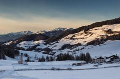 Valle al tramonto (cesco.pb) Tags: valdifunes dolomiten dolomiti dolomites alps alpi sudtirol altoadige italia italy canon canoneos60d tamronsp1750mmf28xrdiiivcld sunset tramonto montagna mountains
