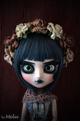 The Portrait (Melu Dolls) Tags: melu meludoll meludolls nenn dolls flower blue rose