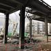 Demolishing the viaduct near the Pike Place Market
