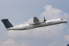 C-FLQY - 2010 build Bombardier Dash 8-402, departing from Runway 08 at Billy Bishop (egcc) Tags: 819 4306 billybishop bombardier cflqy cytz dh8d dhc dash8 dash8402 dehavillandcanada lightroom pd poe porterairlines toronto torontocityairport torontoisland torontoislandairport ytz