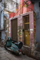 Hindi Classes (shapeshift) Tags: in alley alleys alleyways asia banares benaras candidphotography davidpham davidphamsf documentary india moped nikon school shapeshift shapeshiftnet southasia street streetphotography travel uttarpradesh varanasi banaras