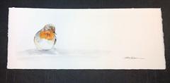Bright Spot (Jennifer Kraska) Tags: wildlifeart painting watercolor bird art jenniferkraska