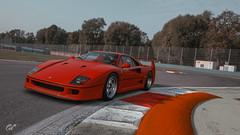 Scuderia Ferrari Scapes (michaelrebellato) Tags: circuit de barcelonacatalunya ps4 ps4pro virtualphotography gtsport ferrari scuderiaferrari scapes
