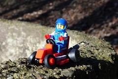 Gokart (captain_joe) Tags: toy spielzeug 365toyproject lego minifigure minifig moc car auto gokart