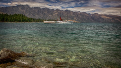 IMG_2764 (iamChristo) Tags: new zealand nz queenstown lake wakatipu mountain ship boat ferry canon 550d eos