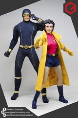 Cyclops (Astonishing X-Men Version) (Bleau Aquino) Tags: onesixthtailoring custom one sixth figure super hero tv cartoon comics xmen astonishing cyclops jubilee geewhiz customs