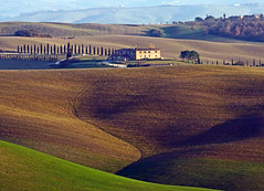 Colline in Toscana (Darea62) Tags: landscape farmhouse countryside hills outside valdorcia paesaggio fields cypress tuscany nature farm sanquiricodorcia