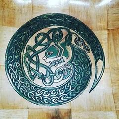 Jörmungandr Serpant Odin's SNAKE Norse Viking Bowl #viking #art #Jörmungandr Retrosheep.com (RetrosheepCharms) Tags: retrosheep handmade gifts deals giftideas