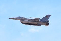 Belgian F-16A FA-56 (Ian E. Abbott) Tags: generaldynamics lockheedmartin sabca f16am f16a f16 fightingfalcon belgianaircomponent belgianairforce belgischeluchtmacht forceaériennebelge fa56