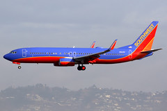 Southwest Airlines | Boeing 737-800 | N8635F | Los Angeles International (Dennis HKG) Tags: aircraft airplane airport plane planespotting canon 7d 100400 losangeles klax lax southwest southwestairlines swa wn boeing 737 737800 boeing737 boeing737800 n8635f