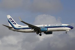 N277EA MIA 29.12.2018 (Benjamin Schudel) Tags: mia miami international airport florida usa swiftair eastern n277ea boeing 737800
