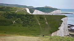 On a clear day... (@WineAlchemy1) Tags: longdistancepath cliffs chalk sevensisters southdownsway eastsussex england beachyhead birlinggap countrypark englishchannel