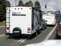 Home is where the Minnie is (twm1340) Tags: flagstaff az arizona 2019 coconino county winnebago micro minnie rv travel trailer caravan