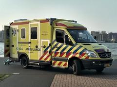 "2013 Mercedes-Benz Sprinter ""Ambulance"" (harry_nl) Tags: netherlands nederland 2019 rotterdam mercedesbenz sprinter ambulance 17124 2snl79 sidecode8"