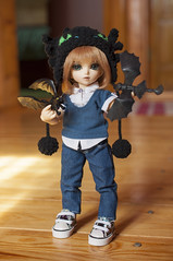 How To Train Your Dragon 04 (Mista-Oro) Tags: toy howtotrainyourdragon dragon dreamworks toothless fairyland ltf littlefee chiwoo bjd doll