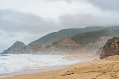 Montara Beach (B. CALI) Tags: montara state beach hw1 cabrillo california us united states nature sony photography landscape ocean mar montanha montanhas mountain seascape coastal mare praia bay area a7r2 alpha collective ligthroom adobe lifestyle sky gray waves crashing crash colors peace