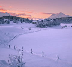 Storvannet in winterlight. (Reidar Trekkvold) Tags: fjell frost fujifilm harstad melåheia mountain natur nature nordnorge norway troms vinter winter xt20 xf1855ois