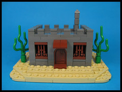 Some place south of the Pecos (Karf Oohlu) Tags: lego moc microscale building oldwest southofthepecos vignette