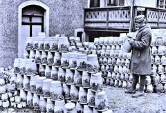 Finished stoneware jars at Hohr, Germany 1-21-19 NARA111-SC-51284 (over 16,000,000 views Thanks) Tags: stoneware hohrgermany ww1 worldwari americanoccupation germany german 1919 ceramics pottery