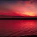 Christmas Day Sunset at Mosquito Lake