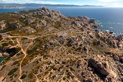 Capo Testa, Sardinia (whitenoisephotography1) Tags: seascape aerial helicopter canon sardinia sardegna se horizon clear sky sunny winter trails