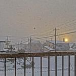 Sunset Through Blizzard Panorama, HDR version thumbnail
