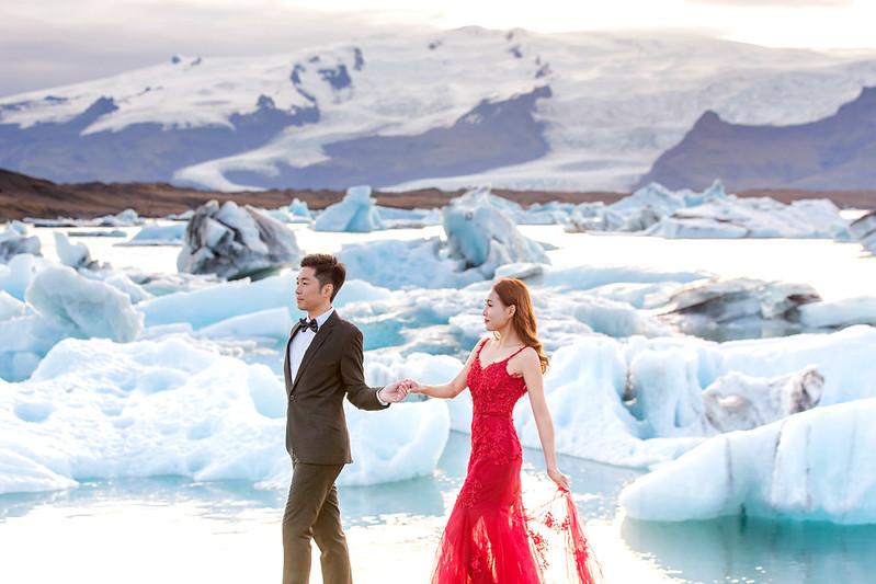 """""""冰島婚紗,海外婚紗,冰島攝影,鑽石沙灘,蜜月婚紗,極光婚紗,雪地婚紗"""""""