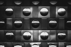 In the bubble (Soren Wolf) Tags: black white bw blackandwhite metro prague city wall nikon d7200 85mm simetric texture
