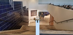 Theatre Stairway (Egon Abresparr) Tags: architecture alvaraalto