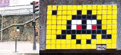 Space invader [Paris 16e] (biphop) Tags: europe france paris streetart space invader spaceinvader mur wall installation mosaic mosaique reactivated reactivation restored restauré réactivé 75016 pa762