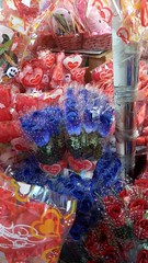 Roses in all colors everywhere. Valentines Day is coming (ghostgirl_Annver) Tags: asia roses valentine day blue red yellow purple