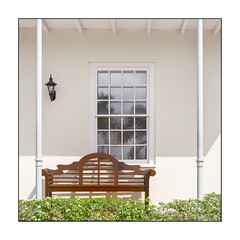 On the Porch (Timothy Valentine) Tags: 2018 0418 highkey window vacation bench monday bridgetown christchurch barbados bb