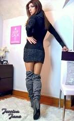 Boots From Behind (jessicajane9) Tags: tg crossdresser tgurl feminised tranny cd xdress tv m2f travesti crossdress transvestite feminization transgender crossdressing tgirl boots trans femme