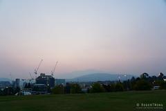 20190129-05-Bushfire smoke over Hobart (Roger T Wong) Tags: 2019 australia cenotaph domain hobart mtwellington rogertwong sel24105g sony24105 sonya7iii sonyalpha7iii sonyfe24105mmf4goss sonyilce7m3 tasmania bushfire evening smoke sunset