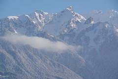 IMGP3471 Rappastein (Alvier) Tags: schweiz ostschweiz alpenrheintal rheintal rhein rheindamm baustelle autokran bunker railjet berge alpstein dreischwestern alvier