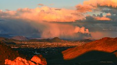 When It Rains It Pours (VGPhotoz) Tags: arizona rain winterstorm usa vgphotoz azcollection february 2019 nature city rainstorm cold coldday sky hillsandvalleys sunset shade clouds rainclouds arizonawonders wonders dramainthesky vista panoramic cavecreek mountains valleyofthesun sunvalley peoria northamerica whenitrainsitpours olympus em1markii m40150mm f28 ƒ45 400 mm 1200 200 temple templemount northeast event strange weather pics postcard wildclouds winterclouds art natureart colors pastels pastelcity atmosphere tones drama ilovearizona explorearizona littlevolcanoes extinct