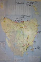 Map of Tassie 2019 trip (spelio) Tags: mapping tasi tasmania tassie 2019 tripod map days trip tas1901