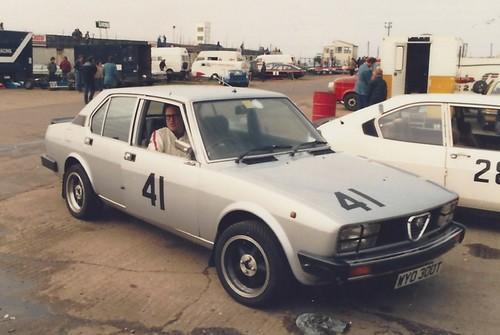 Stephen Milne Alfetta 1982