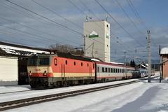 1144 092, IC 591 ( Villach > Salzburg ). Pusarnitz (M. Kolenig) Tags: 1144 schachbrett tauernbahn schnee intercity