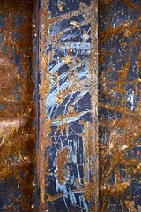Benne efficiente (Gerard Hermand) Tags: 1811116378 gerardhermand londres london royaumeuni unitedkingdom canon eos5dmarkii benne dumpster metal peinture paint rouille rust abstrait abstract abstraction