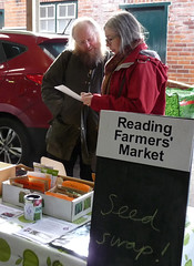 RFGN seed swap the Reading Farmers' Market (karenblakeman) Tags: readingfarmersmarket greatknollysstreet reading uk readingfoodgrowingnetwork rfgn seedswap march 2019 berkshire
