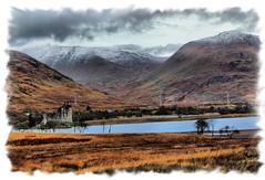 kilchurn castle (Duncan the road rebel) Tags: scottishlandscape scotlandslandscape scotland scottish castle water loch snowcappedmountain snowscape snow kilchurncastle kilchurn