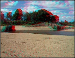 RB_dead-veg_bole+roots_x2_in-mary-rv-at-obi_20150807-115220_CC-BY.jpg (fotWograf) Tags: anaglyph aus australia bole charlesstpk dead deadtree deadveg geo:lat=2659561900 geo:lon=15273220800 geotagged kenilworth maryriver obiobick outdoor queensland rb stereo stereorb stereogram stereophotography waterway